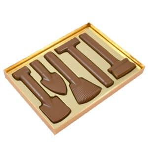 Tuinset Melkchocolade