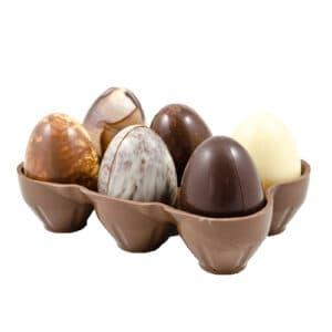 Eierrekje met Eieren Melk Chocolade