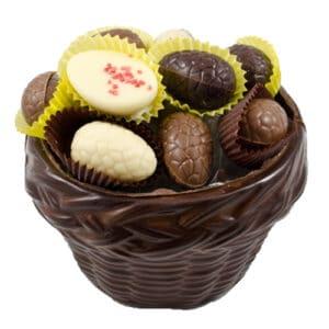 Mand Gevlochten Pure Chocolade