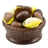 Mand Rond Pure Chocolade