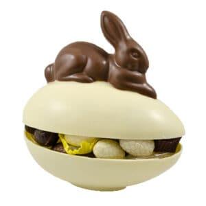 Ei Bonbon Met Haas Witte Chocolade