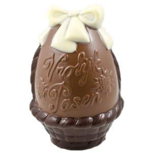 Ei Vrolijk Pasen Melk Chocolade