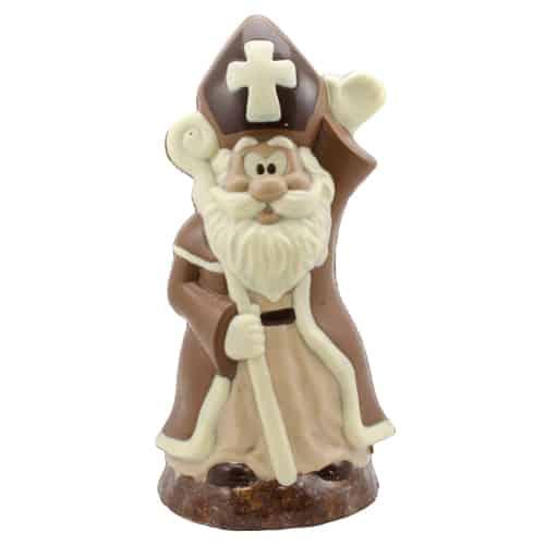 Grote Sinterklaas van Melkchocolade