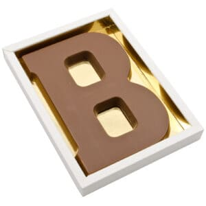 Chocoladeletter B