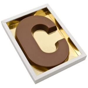 Chocoladeletter C
