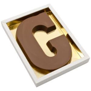 Chocoladeletter G