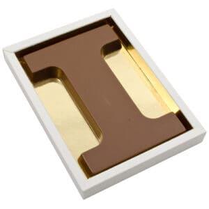 Chocoladeletter I