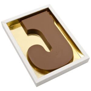 Chocoladeletter J