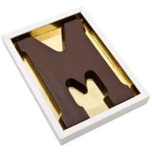 Chocoladeletter M