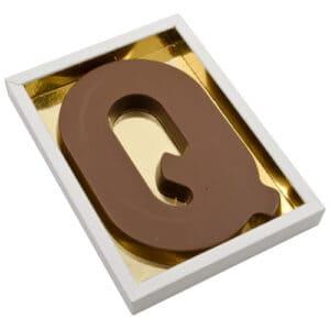 Chocoladeletter Q