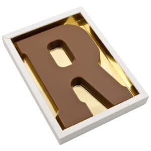 Chocoladeletter R