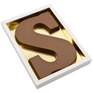 Chocoladeletter S