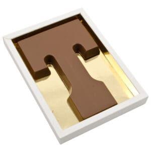 Chocoladeletter T