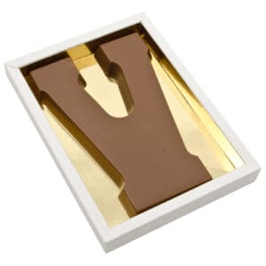 Chocoladeletter V
