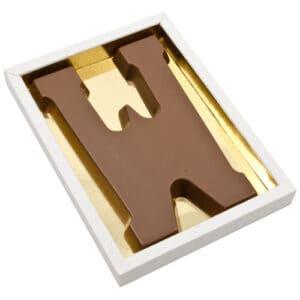 Chocoladeletter W