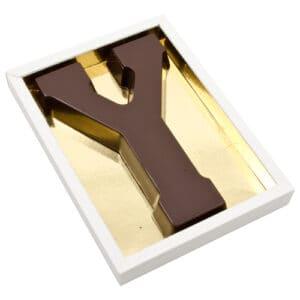 Chocoladeletter Y
